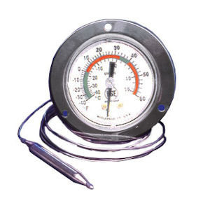 T90-6142 Flush Front Recessed Mount Thermometer(T90-6142)
