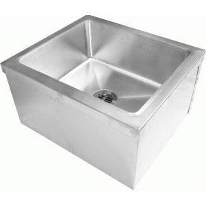 """24"""" x 24"""" Stainless Steel Floor Mount Mop Sink (64-MOP2424)"""
