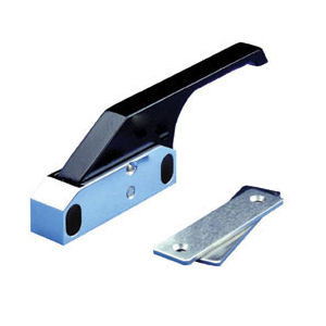 Edgemount Latch with Black Thermoplastic Offset Handle (R27-1010-X)
