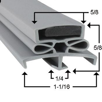 Traulsen Gasket  21 1/2 x 29 1/2 - Profile 166