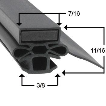 Turbo Air Gasket 22 1/8 x 26 1/4