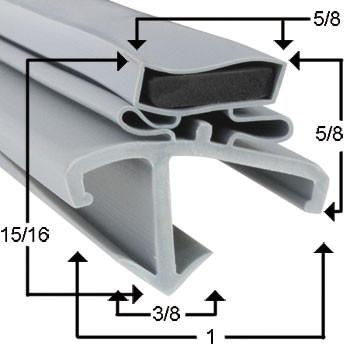 American Panel Gasket 36 7/16 x 77 21/32