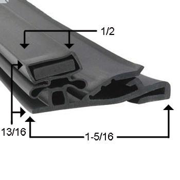 Styleline Gasket  29 5/8 x 71 1/2