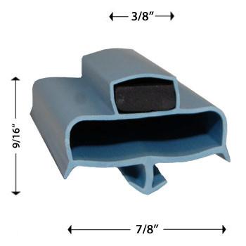Turbo Air M722300103 Gasket 22 1/2 x 26 7/8