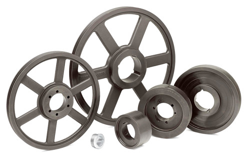 """MFAL84x1 8"""" pulley with a 1"""" bore"""