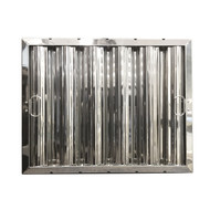 "16"" X 20"" Stainless Steel Grease Hood Filter"