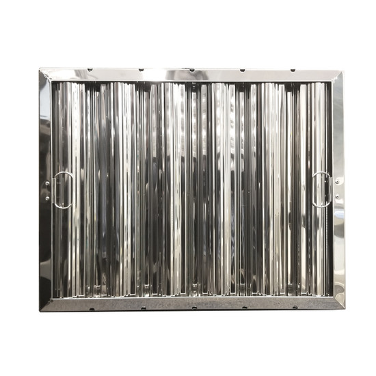 """16"""" X 20"""" Stainless Steel Grease Hood Filter"""