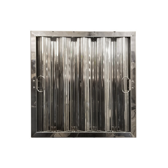 """16"""" X 16"""" Stainless Steel Grease Hood Filter"""