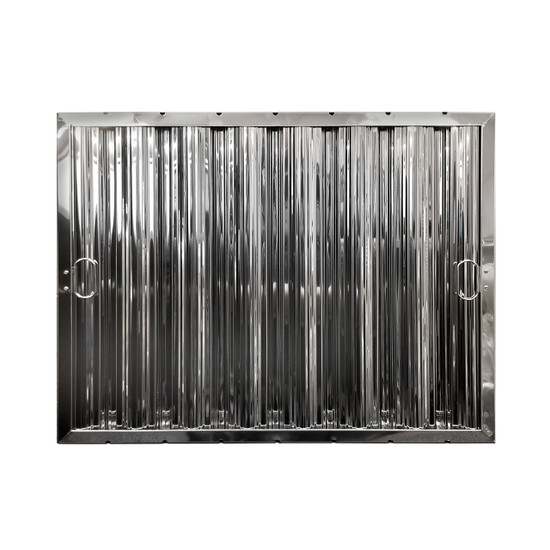 "20"" X 25"" Stainless Steel Grease Hood Filter"