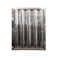 "20"" X 16"" Stainless Steel Grease Hood Filter"