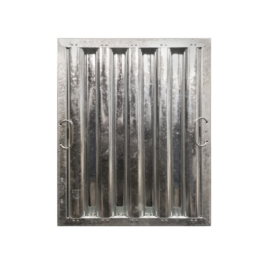 "16"" X 25"" Stainless Steel Grease Hood Filter"