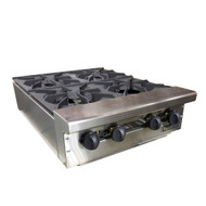 "THERMA-TEK 24"" HOTPLATE 4 BURNER"