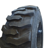 2 New Skid Steer Tires on Rim 12 16.5 Loadmaxx Directional 12Ply 12x16.5 12-16.5