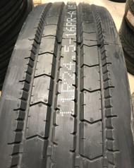 New Tire 11 R 24.5 Ironman 109 AP Steer Rib 16 Ply Semi Truck 11R 11R24.5 ATD