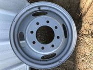 16 Rim 16x6.5 8Bolt 8x6.5 GM Dually Outer 4.5in Center Silver Wheel