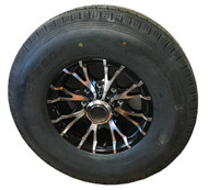 235 85 16 New Westlake 14 Ply All Steel Trailer Tire Mounted on Sendel T07 Aluminum Wheel 8x6.5 8 Bolt ST235/85R16