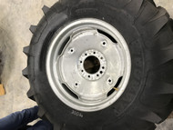 New Tire 14.9 24 Titan R1 Lightweight Foam Filled on Rim