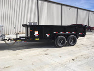 New 2018 Big Tex 14ft Dump Trailer 14K Bumper Pull