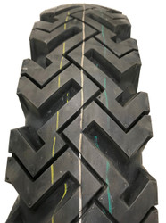 New Tire 7.50-16 Power King Mud & Snow 10 ply 20/32 TL Bias Super Traction 7.50x16LT