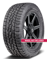 New Tire 265 70 17 Hercules Terra Trac AT II OWL 6 ply LT265/70R17 60,000 Miles