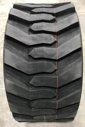 New Tire 33 15.50 16.5 Power King Skid Steer Rim Guard R4 12ply 33x15.50-16.5