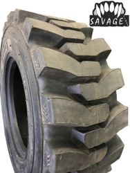 New Tire & Tube 12 16.5 Blemish Savage HD Premium Skid Steer 12 Ply DeepTread 50/32 12x16.5 PPT