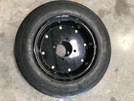 21 7.00 12 Foam Filled Bush Hog 4 Lug RIM 16ply Rib Tire Tube Mounted on Rim 21x7.00-12 21x7-12