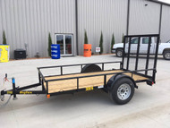 New 2020 Big Tex 10ft x 5ft Utility Flatbed Trailer 30ES-10