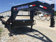 """New 2019 Load Trail Flatbed 102""""x 30 Deckover w/ Max Ramps 14K"""
