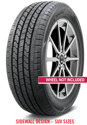 New Tire 285 45 22 XL Hercules Cross V Suv All Season P285/45R22 70,000 Miles