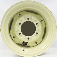 15 Inch New Implement Wheel 15x8 6on6 6 Bolt 6 Lug Cream Rim 3800 lb Rated SIL