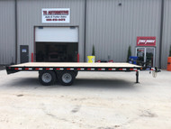 "New 2020 Load Trail 102""x20ft Flatbed Deckover Trailer"
