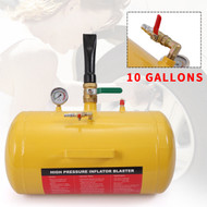 New 10 Gallon Bead Blaster with Split Nozzle Free Shipping