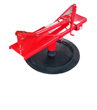 Red Tire Spreader and Base Fits Rim Clamp on Tire Machines