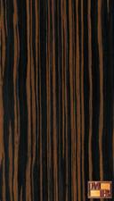 Ebony - V-Tec Veneer - Brown Quartered