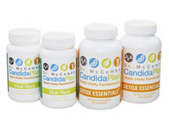 "Everything you need to complete the 4th month of The Candida Diet Plan. The revolutionary Candida Diet program by ""The Candida Doctor"", Dr. Jeff McCombs, DC, that effectively balances Systemic Candida and restores normal balance to the whole body. The benefits and outstanding results The Candida Plan is known for are achieved by completing the entire program which is four months long (16 weeks). Some people prefer to purchase the supplements needed all at once (Complete Set) while others prefer to buy them on a monthly basis."