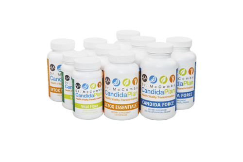 "The Candida Diet program's Tune-Up set for those who have already done the complete Candida Diet. The revolutionary Candida Diet program by ""The Candida Doctor"", Dr. Jeff McCombs, DC, that effectively balances Systemic Candida and restores normal balance to the whole body. The benefits and outstanding results The Candida Plan is known for are achieved by first completing the entire program which is four months long (16 weeks)."