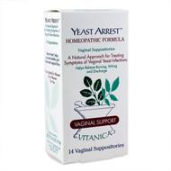 Vitanica Yeast Arrest (14 Vaginal Suppositories)