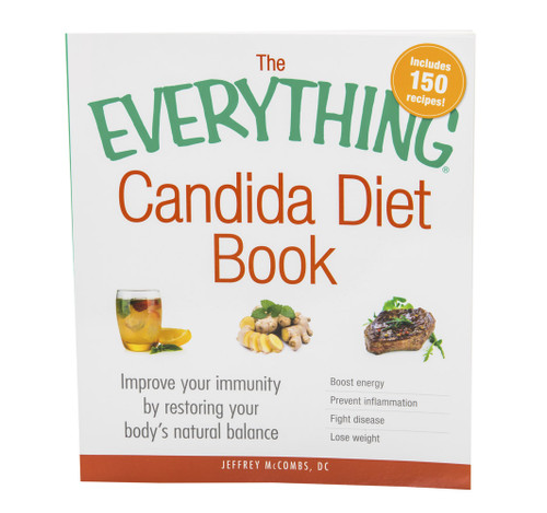 """The Candida Diet book that explains the science behind candida. The book supports the revolutionary Candida Diet program by """"The Candida Doctor"""", Dr. Jeff McCombs, DC, that effectively balances Systemic Candida and restores normal balance to the whole body. Contains over 150 candida diet recipes!"""
