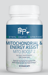 Individuals with genetic variants often struggle with mitochondrial dysfunction and fatigue. To support the mitochondria and energy, we've formulated Mitochondrial & Energy Assist. CO Q10 and N-Acetyl-L-Carnitine can be depleted with genetic variants expressed, leading to lowered production of ATP. Mitochondrial & Energy Assist provides nutrients to support this energy production. From PHP/Nutritional Specialties.