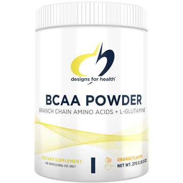 BCAA Powder combines the branched-chain amino acids (BCAA) — leucine, isoleucine, and valine — along with the amino acid, L-glutamine for a synergistic effect in building muscle tissue and supporting the immune system.* BCAAs are unique in that they are a direct source of energy for skeletal muscles while also serving as intermediates in the ATP-producing citric acid cycle. They stimulate the building of protein in muscle, help reduce muscle breakdown during exercise, and regulate protein metabolism throughout the body.*