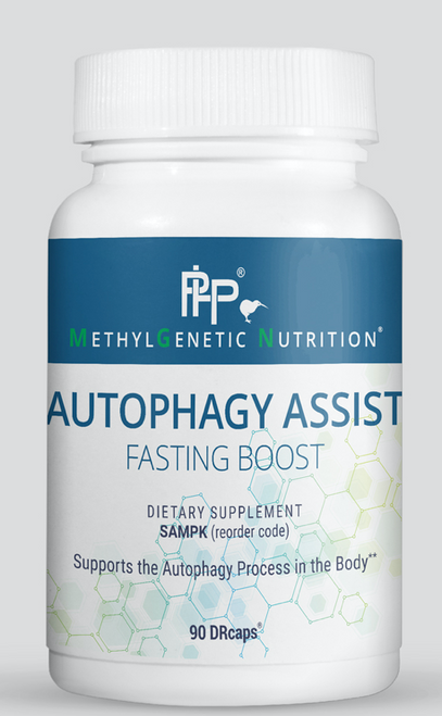 Autophagy Assist (FASTING BOOST), as its name implies, supports the process of autophagy – the removal of misfolded proteins, damaged cell components, and intracellular pathogens and debris. This critical biological process is also important in balancing energy, oxidative stress, and overall homeostasis. This cutting-edge formulation provides nutrients such as quercetin, resveratrol, pterostilbene and curcumin that support the process of autophagy in the body, which is normally triggered by fasting. This also contains Citrin® (Garcinia cambogia) to support weight loss. Therefore, this product may be an excellent addition to any fasting regimen (Intermittent Fasting, Time Restricted Eating, prolonged fasts,