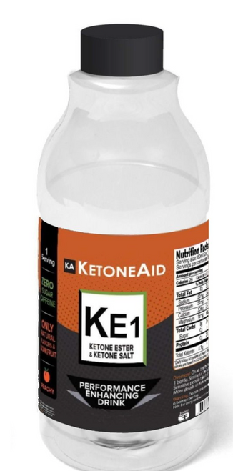 """This formula is """"pleasant"""" and each bottle contains 5.5g of KetoneAid's BioBHB(tm) Ketones, similar to 10ml of KE4 (compare),    50% D-Ketone Ester (3g) (was 2.5g) 25% D-BHB Ketone Free Acid / Salt (2.5g) Sodium 179mg  Potassium 50mg (was 143mg) Magnesium 30mg (was 59mg) Calcium 20mg (was 39mg) (note this is 85% less total salt versus most ketone salts) Other ingredients: monk fruit, natural flavors, potassium sorbate. (no stevia, no allulose, no taurine)  Even if you don't like Ketone Salts (see Salts vs Esters video), that likely was due to the massive salt load. With KE1 expect no bloating, nor GI issues.   This product is, for the most part, for those can't take the strong taste of KE4 and a more convenient ready to drink bottle.  Some people get both."""
