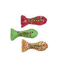 Yeowww! Stinkies Catnip-Filled Sardine Toy - Single (Assorted)