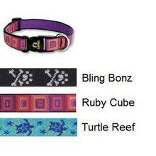 Lupine 1 Inch Wide Dog Collar