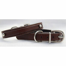 Fashion Angels Leather Dog Collar