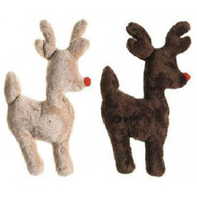 Ruff-N-Tuff Holiday Reindeer Dog Toy