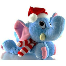 Dog It Elephant Holiday Toy