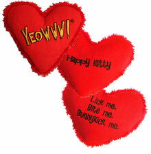 Yeowww! Heart Attack Catnip Toy - Single (Assorted)