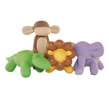 Charming Balloon Jungle Squeaker Dog Toy - Single (Assorted)